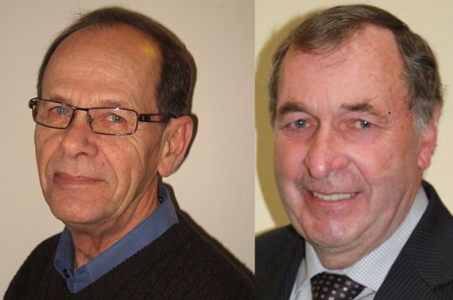 André Blais et Gilles Clément, les deux candidats... (Jessy Laflamme, LeDroit)