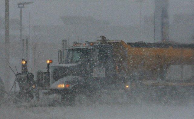 Compte tenu des fortes précipitations d'hier, la Ville de Québec déclenchera... (Photo Le Soleil, Pascal Ratthé)