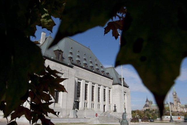 La Cour suprême du Canada... (PHOTO Adrian Wyld, PC)