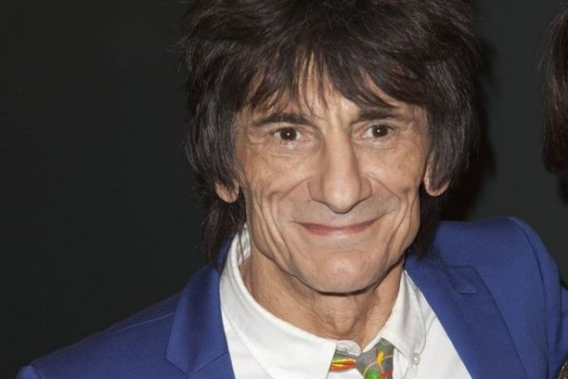 Ronnie Wood... (Photo Andrew Kelly, Reuters)