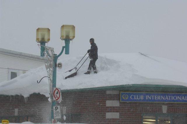 Avec les importantes quantités de neige qui se... (photo: sylvain mayer)