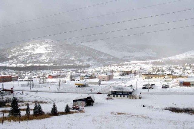 Murdochville, fondée en 1953 pour exploiter une mine... (Photo collaboration spéciale Geneviève Gélinas)