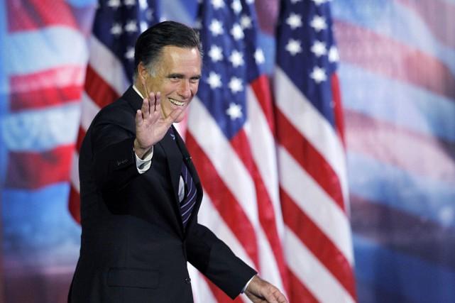 Le républicain Mitt Romney, candidat malheureux à la... (PHOTO ARCHIVES REUTERS)