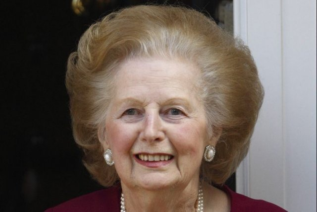 Margaret Thatcher, la «Dame de fer».... (PHOTO ANDREW WINNING, ARCHIVES REUTERS)