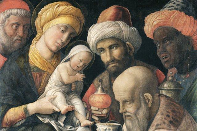 Ouvrant leurs trésors, ils lui offrirent des présents: de l'or, de l'encens et...