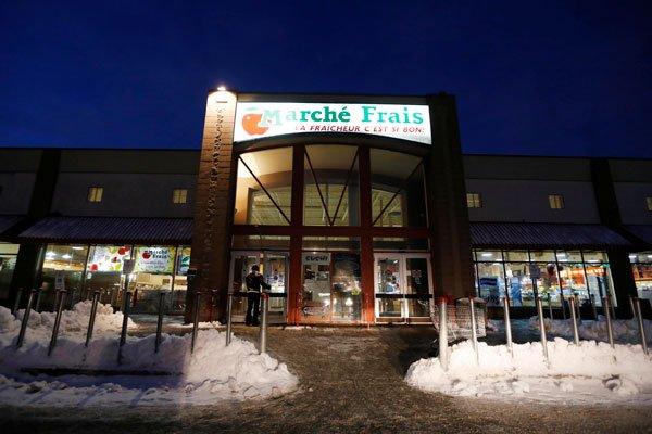 La seule succursale restante de l'entreprise Marché Frais... (Simon Séguin-Bertrand, LeDroit)