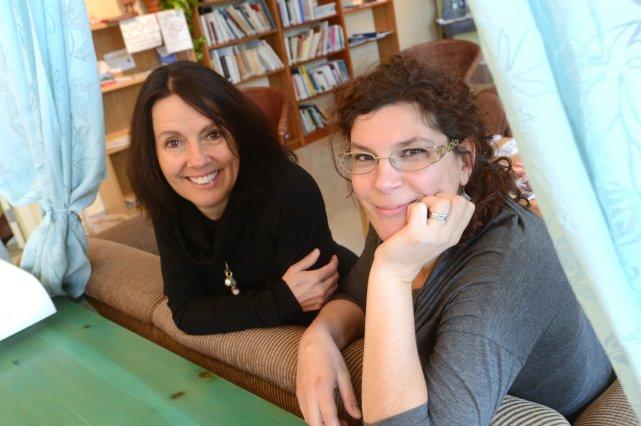 Martine Lemay et Anne Schranckenmuller partagent une histoire... (Imacom René Marquis)