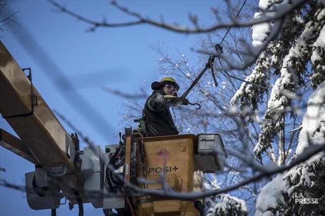 Un incident survenu sur le réseau électrique dans le Nord du Québec vers 16h a... (Photo: Olivier PontBriand, archives La Presse)