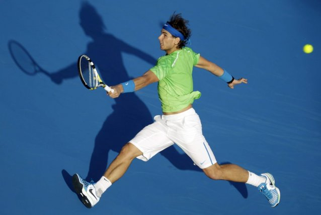 Rafael Nadal, dont la dernière apparition sur le... (Photo Kamran Jebreili, Associated Press)