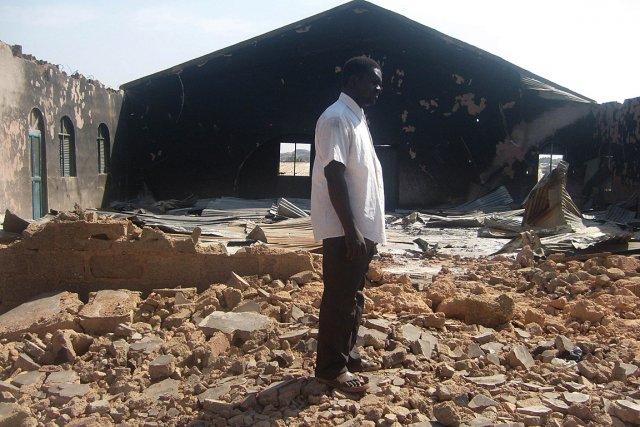 Les attaques contre les églises sont fréquentes au... (Photo: archives AFP)