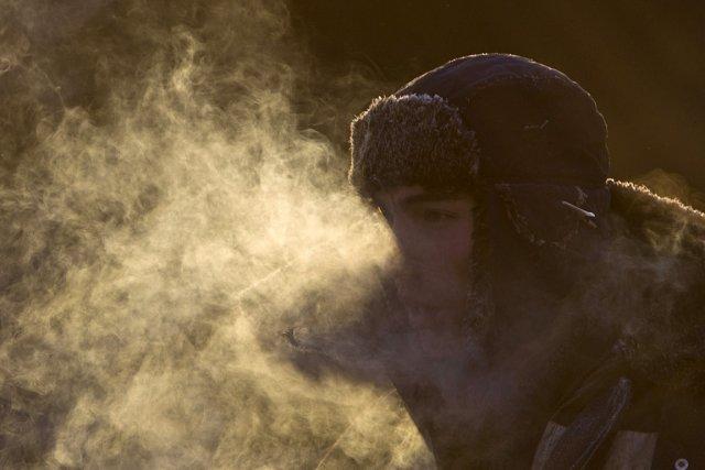 Le centre météorologique indiquait cependant sur son site... (Photo: AFP)