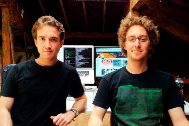 Conor Clarke et Gabriel Lespérance, cofondateurs de Wavo,... (Photo fournie par Wavo)
