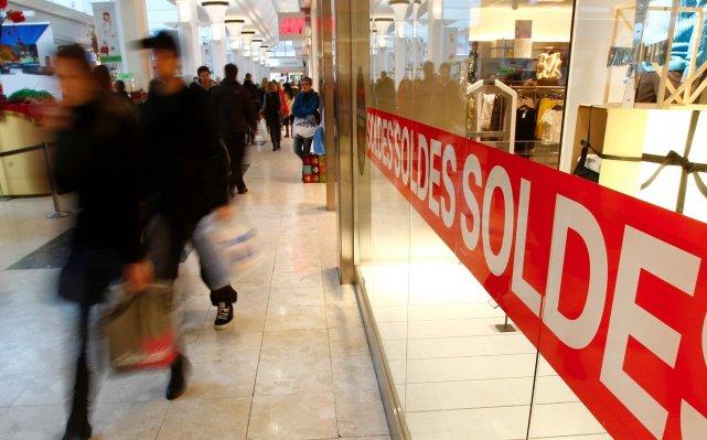 Seuls 36 % des Québécois entendaient profiter du... (Photo Le Soleil, Yan Doublet)