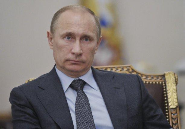 Le président russe Vladimir Poutine.... (Photo Agence France-Presse)