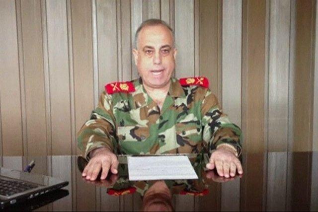 Le chef de la police militaire syrienne, le... (Photo tirée d'une vidéo de Reuters)
