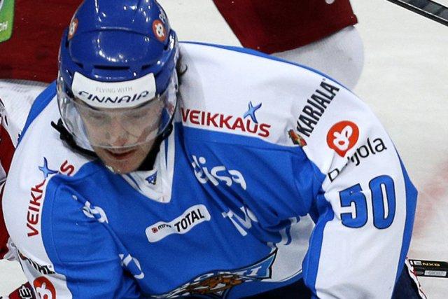 Miro Aaltonen a marqué deux buts et il... (Photo archives)