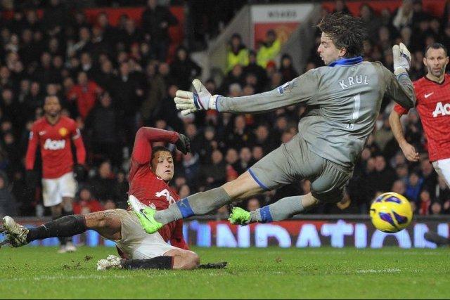 Dès l'entame du match, Newcastle mettait à profit... (Photo ANDREW YATES, AFP)