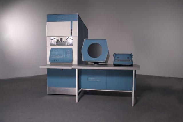 Un ordinateur sur lequel les premiers adeptes des... (Photo fournie par le Museum of the moving image)