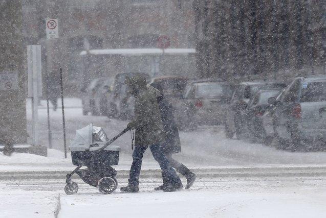 Québec est touchée par une troisième tempête en... (Le Soleil, Yan Doublet)