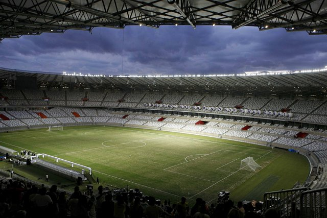 Le stade Mineirao de Belo Horizonte.... (PHOTO WASHINGTON ALVES, REUTERS)