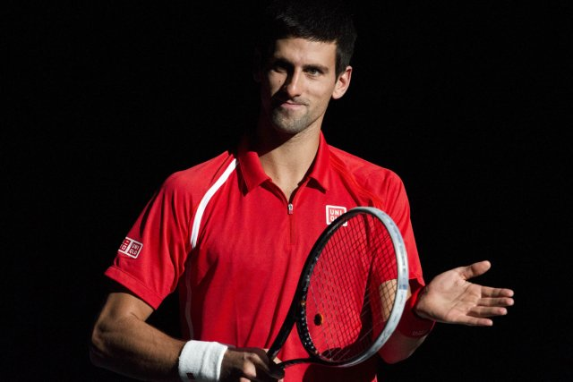 Novak Djokovic, actuel no 1 mondial.... (PHOTO LIONEL BONAVENTURE, AFP)