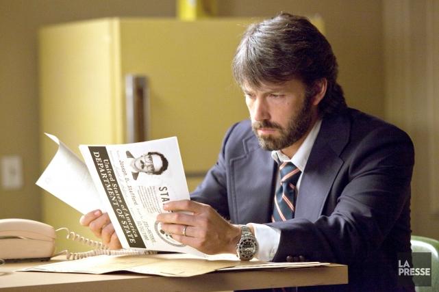 Ben Affleck dans une scène d'Argo....