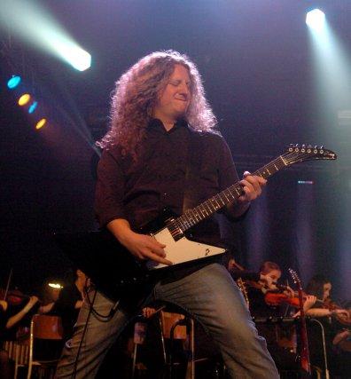 Le guitariste trifluvien Dan Mongrain a été recruté... (PHOTO: FRANÇOIS GERVAIS)