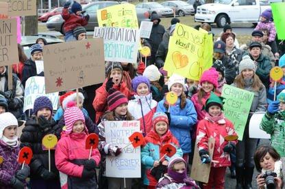 Déçus par l'attitude de la Commission scolaire de la Région-de-Sherbrooke... (Archives La Tribune)