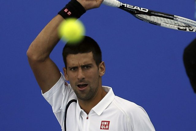 Novak Djokovic... (Photo Karim Sahib, Agence France-Presse)