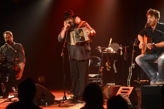 Cet Yves Lambert Trio a cela de particulier... (Photo Bernard Brault, La Presse)