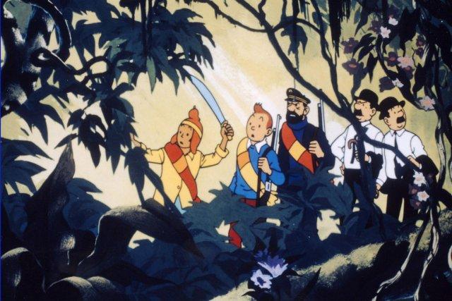 Tintin et le temple du Soleil... (Photo fournie par Télé-Québec)
