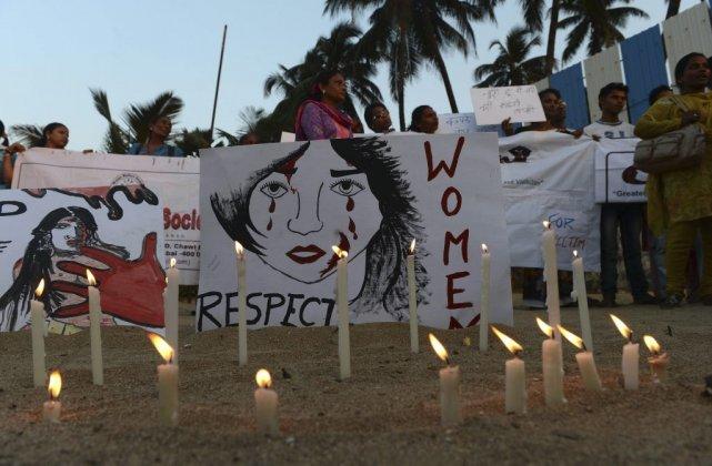 Des manifestations sont organisées tous les jours depuis... (PHOTO PUNIT PARANJPE, AFP)