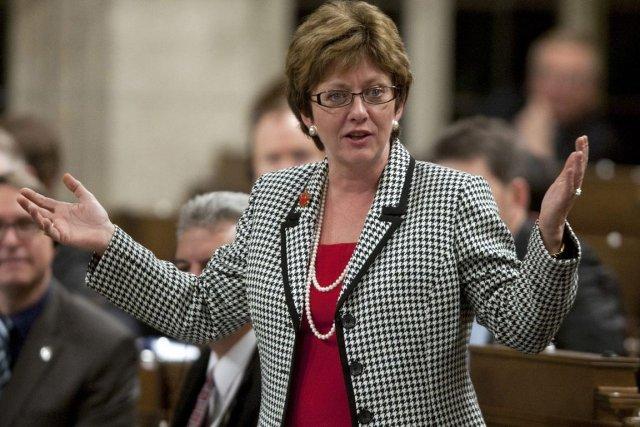 La ministre fédérale responsable de l'assurance-emploi, Diane Finley.... (Photo: Adrian Wyld, PC)
