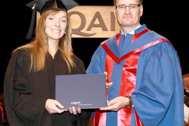 L'Université du Québec à Rimouski a remis son... (PHOTO COLLABORATION SPÉCIALE CARL THÉRIAULT)