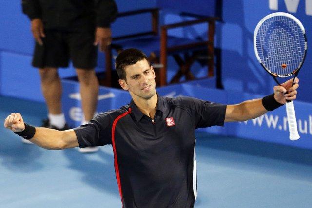 Novak Djokovic a profité des fautes directes de... (Photo : Karim Sahib, AFP)