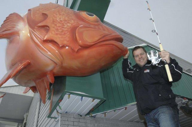 Le président du groupe Promotion pêche, Rémi Aubin,... (Photo Michel Tremblay)
