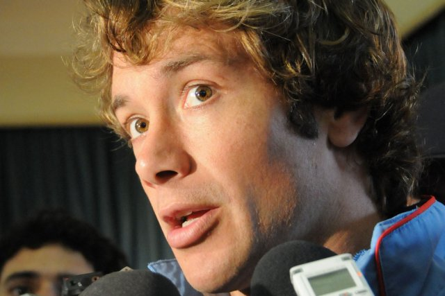 Diego Lugano... (Photo : Mariana Suarez, AFP)