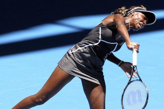 Venus Williams est venue de l'arrière pour battre... (Photo : Tony Ashby, AFP)
