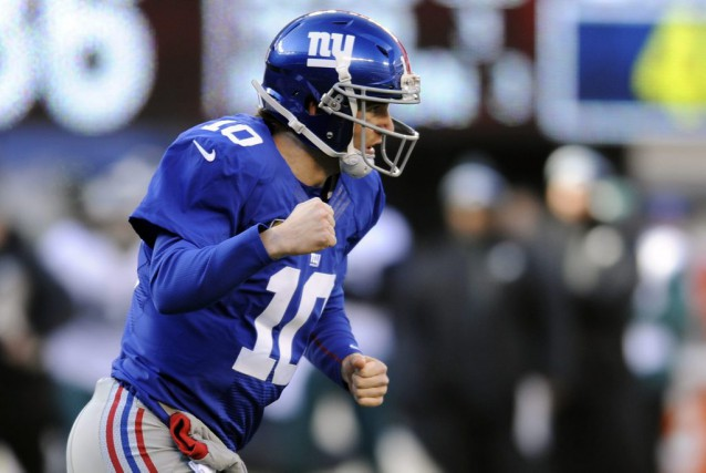 Eli Manning... (PHOTO archives AP)