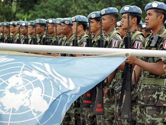 Les Casques bleus étaient arrivés au Timor en... (Photo AFP)