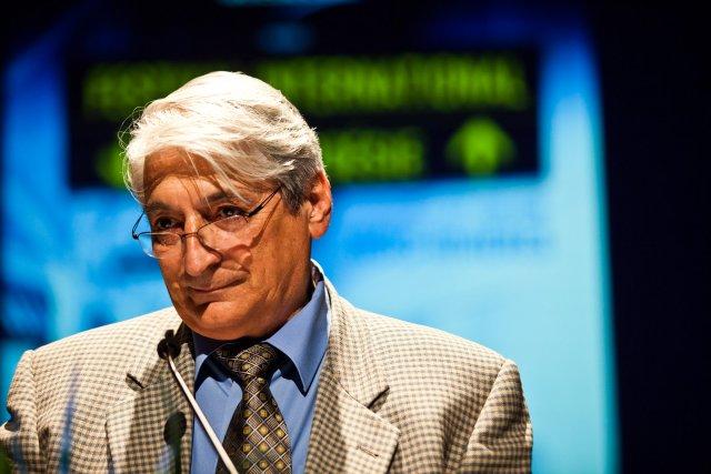 Le président fondateur du Festival international de poésie... (Photo: olivier croteau)