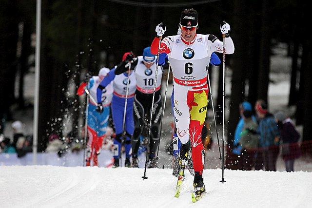 Alex Harvey a obtenu dimanche son meilleur résultat... (Photo Marcel Hilger)