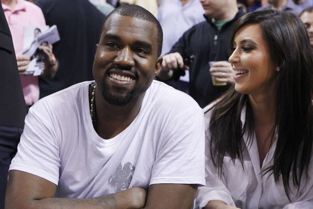 Le rappeur Kanye West et la vedette de... (Photo : Andrew Innerarity, Reuters)
