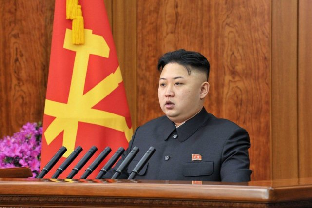 Kim Jong-Un, qui a succédé à son père... (PHOTO ARCHIVES AFP)