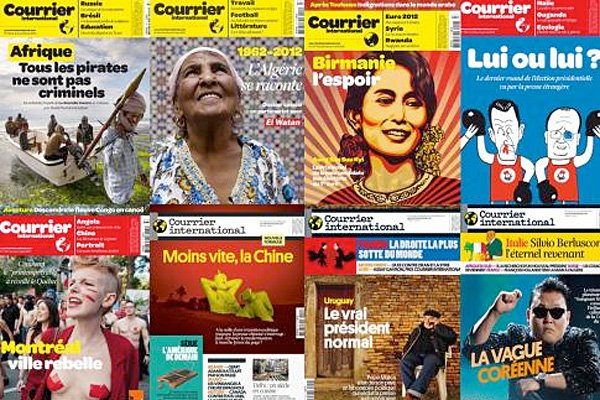 Le site internet de la revue Courrier international offre une rétrospective de... (Photo: tirée du site courrierinternational.com)