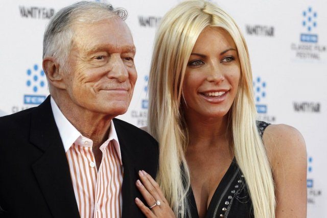 Le fondateur du magazine Playboy Hugh Hefner a uni sa... (Photo Fred Prouser, Reuters)