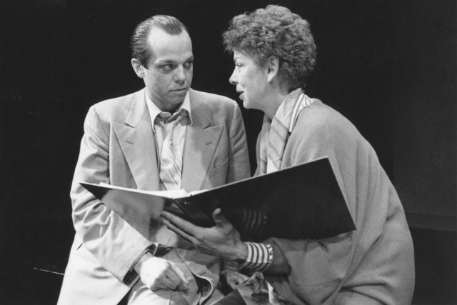 Guy Nadon et Michèle Magny, de la pièce... (Photo Robert Laliberté, archives.)