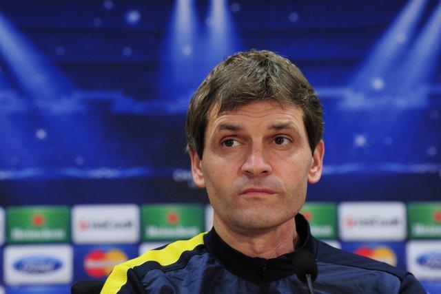 L'entraîneur du FC Barcelone, Tito Vilanova, a été... (Photo: AFP)