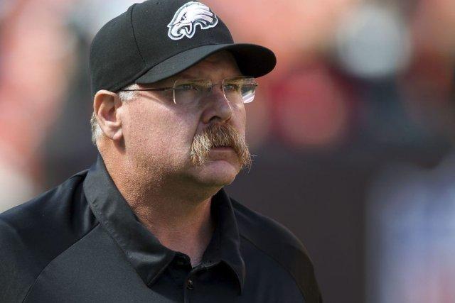 L'ancien entraîneur-chef des Eagles Andy Reid aurait été... (Photo AARON JOSEFCZYK, Reuters)