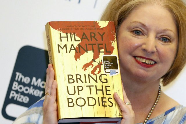 Hilary Mantel... (Photo Luke MacGregor, Reuters)